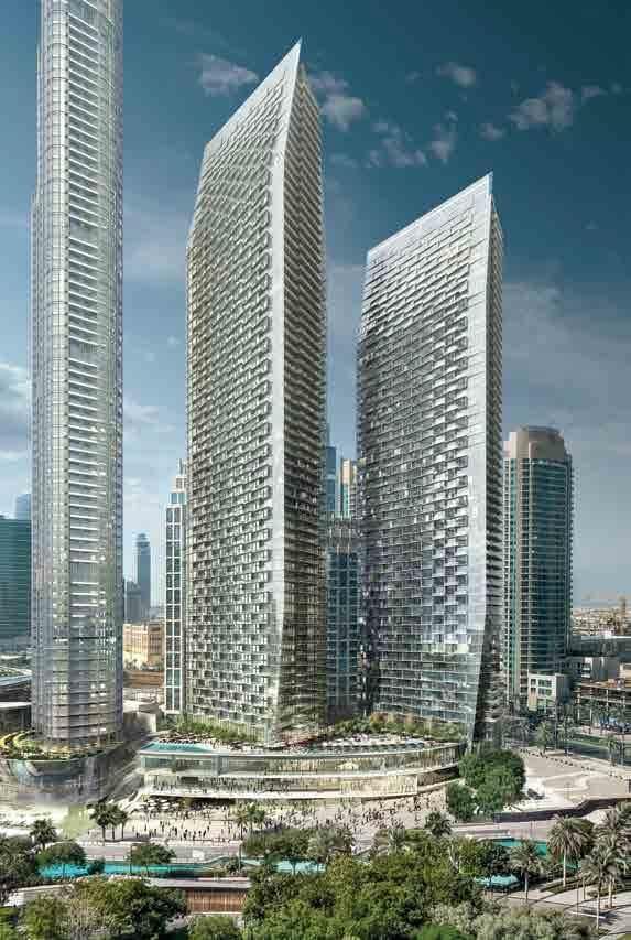 the address residences dubai opera tower view10