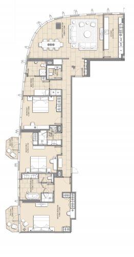 address harbour point apartment 3 bhk 2410sqft 20202018132015