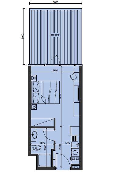 alexis tower studio 293sqft01