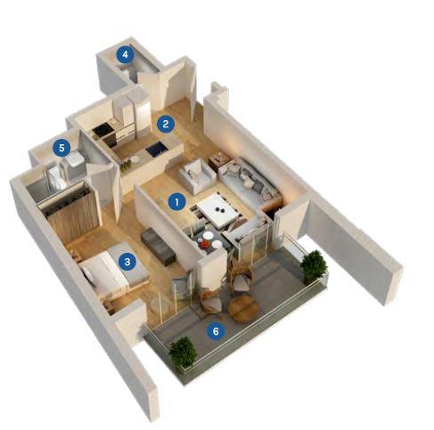 azizi aura apartment 1bhk 626sqft61