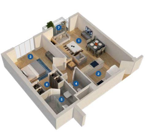 azizi aura apartment 1bhk 650sqft61
