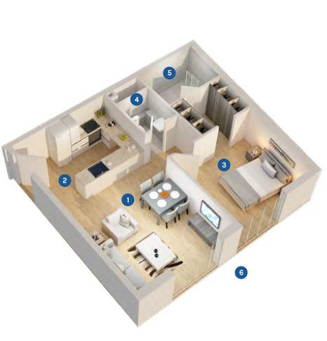 azizi aura apartment 1bhk 694sqft61