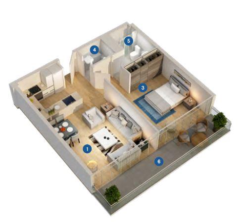 azizi aura apartment 1bhk 709sqft61