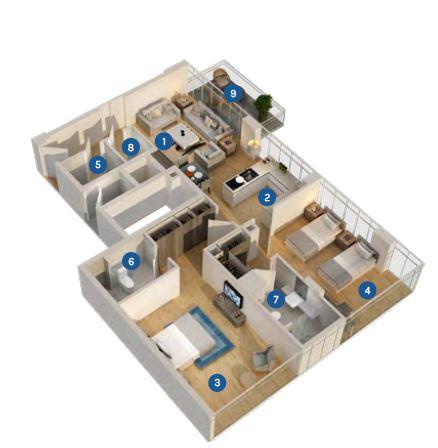 azizi aura apartment 2bhk 1142sqft71