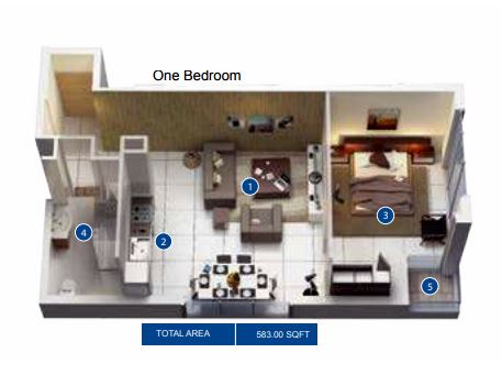 azizi pearl apartments apartment 1bhk 655sqft61