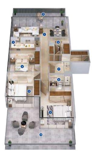 azizi phase 2 apartment 3bhk 2578sqft31