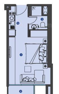 azizi phase 5 apartment 1bhk 950sqft31