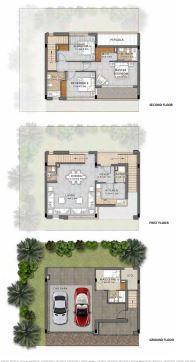 damac paramount villas villa 3bhk 2696sqft01