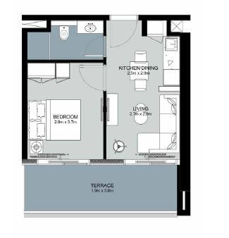 damac zada residences apartment 1bhk 479sqft01