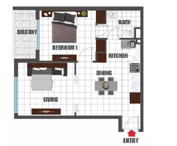 danube olivz apartment 1bhk 674sqft61