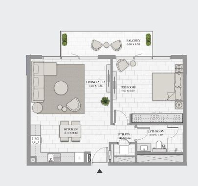 dp la vie apartment 1bhk 860sqft01