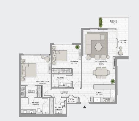 dp la vie apartment 2bhk 1400sqft31