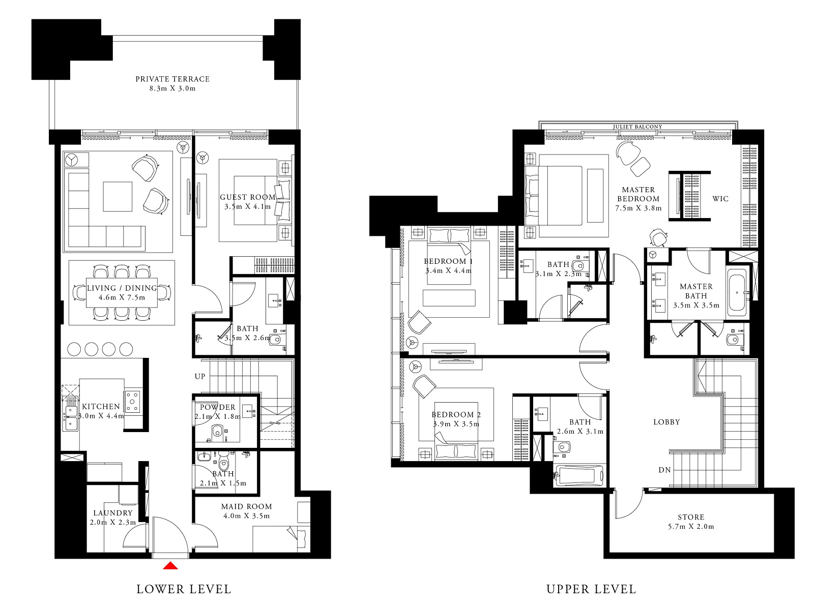 emaar act one act two apartment 4 bhk 3139sqft 20211001151028