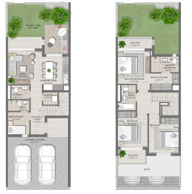 emaar arabian ranches 3 joy townhouse 3bhk 1934sqft141