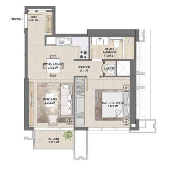 emaar burj royale apartment 1bhk 630sqft31