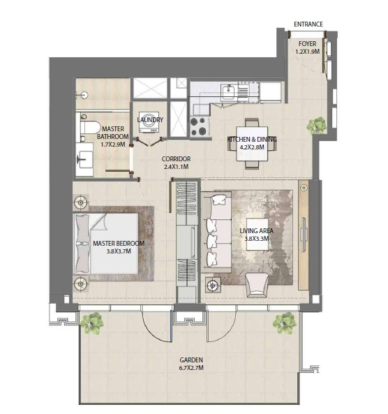 emaar burj royale apartment 1bhk 792sqft121