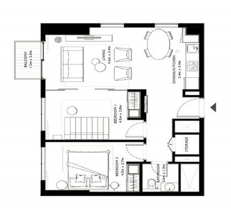 emaar collective 2 apartment 2 bhk 727sqft 20200518150518