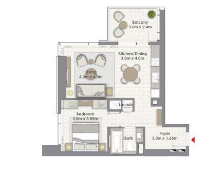 emaar creek rise  apartment 1 bhk 820sqft 20200818120815