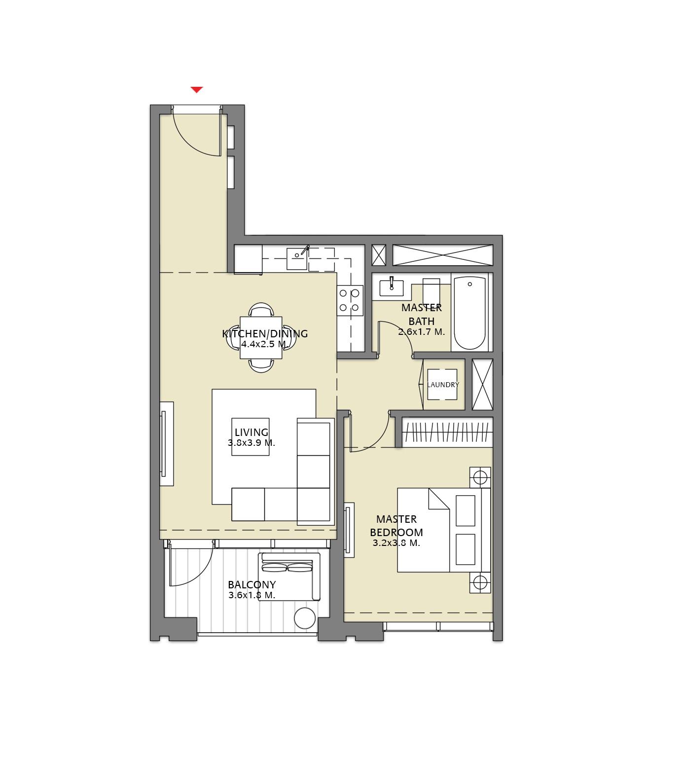 emaar downtown views 2 apartment 1 bhk 729sqft 20204125154140