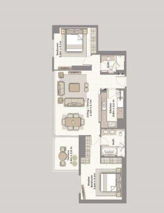 emaar dubai creek residences apartment 2 bhk 1364sqft 20203418123434