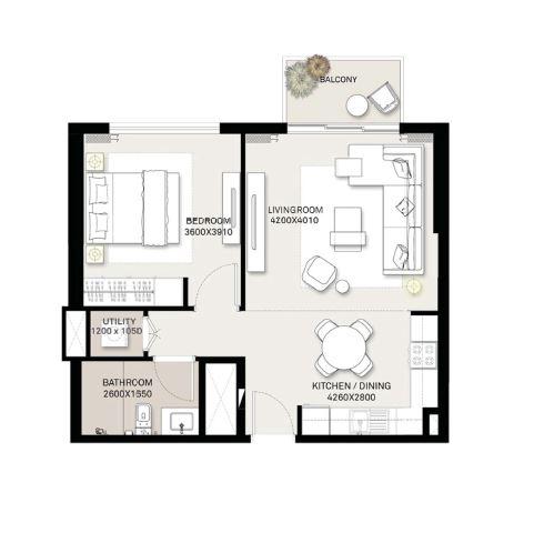 emaar executive residences apartment 1bhk 657sqft61