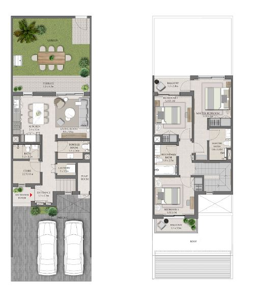 emaar expo golf villas phase 4 villa 3bhk 1940sqft141