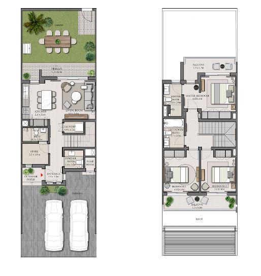 emaar expo golf villas phase 4 villa 3bhk 2077sqft141