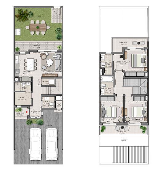 emaar expo golf villas phase 4 villa 3bhk 2080sqft141