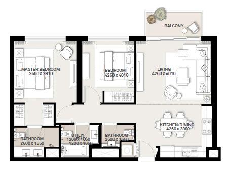 emaar green square apartment 2bhk 995sqft181