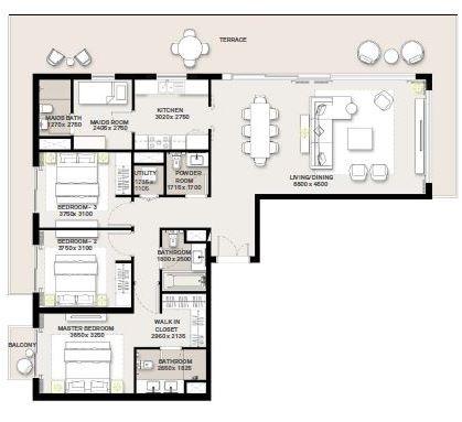 emaar green square apartment 3 bhk 1583sqft 20204018194006