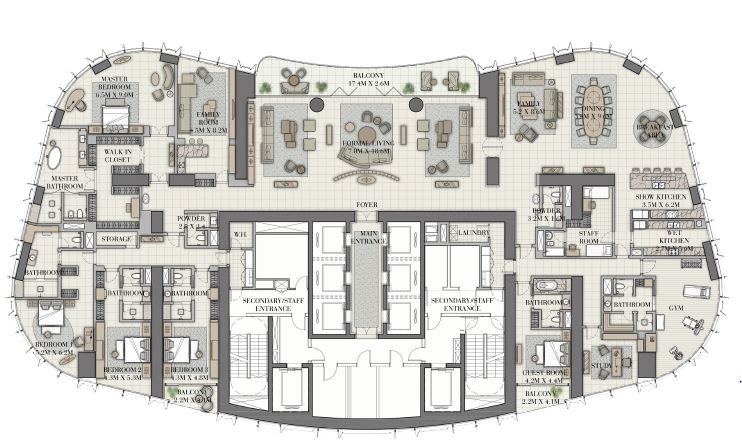 emaar il primo apartment 5bhk 11406sqft21