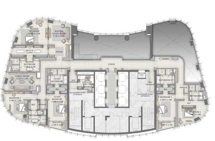 emaar il primo apartment 6bhk 7774sqft41