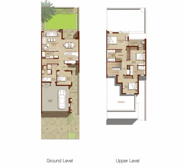 emaar maples  townhouse 3 bhk 2387sqft 20205117105114