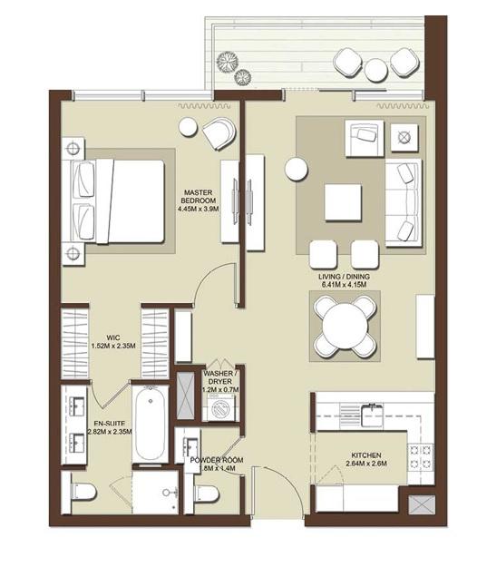 emaar mulberry apartment 1 bhk 922sqft 20201329161348