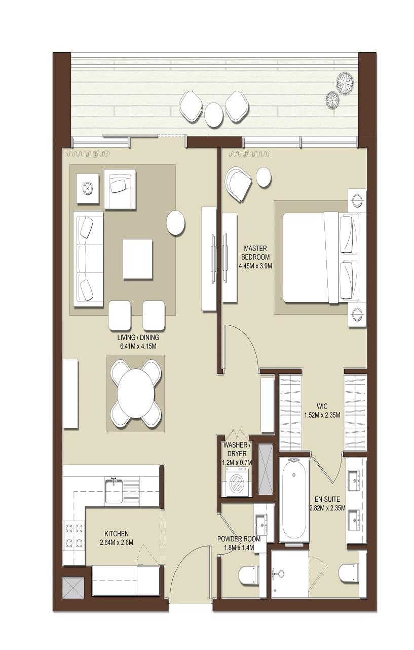 emaar mulberry apartment 1 bhk 975sqft 20211701141707
