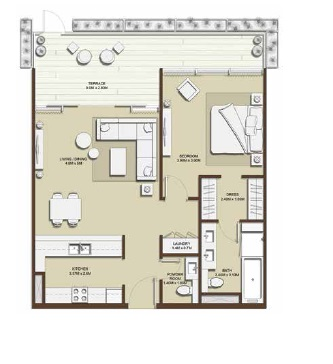 emaar mulberry park heights apartment 1bhk 1000sqft21