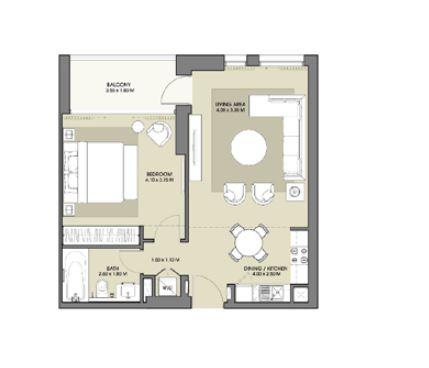 emaar park point apartment 1bhk 656sqft41