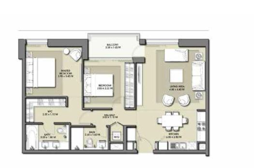 emaar park point apartment 2bhk 1031sqft361