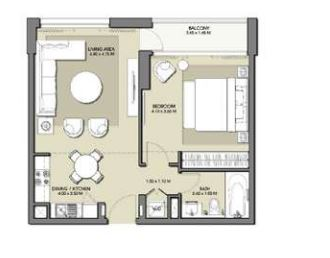 emaar park point dubai hills apartment 1bhk 677sqft21