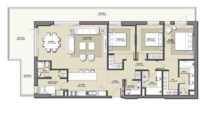 emaar park point dubai hills apartment 3bhk 2258sqft231