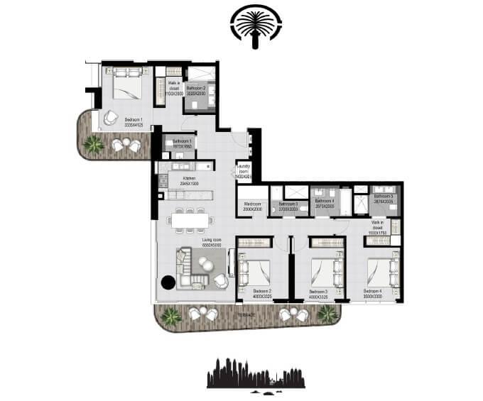 emaar south beach apartment 4bhk 2249sqft161