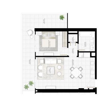 emaar sunrise bay apartment 1 bhk 817sqft 20204918144947
