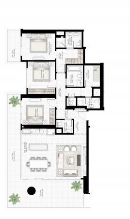 emaar sunrise bay apartment 3 bhk 1909sqft 20204418144410