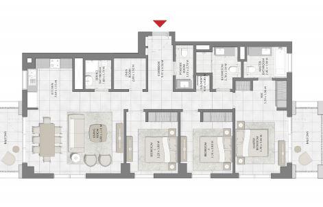 emaar surf apartment 3 bhk 1492sqft 20203518153535