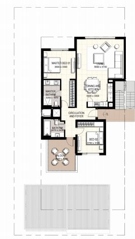 emaar urbana 3 townhouse 2 bhk 1301sqft 20202517102534