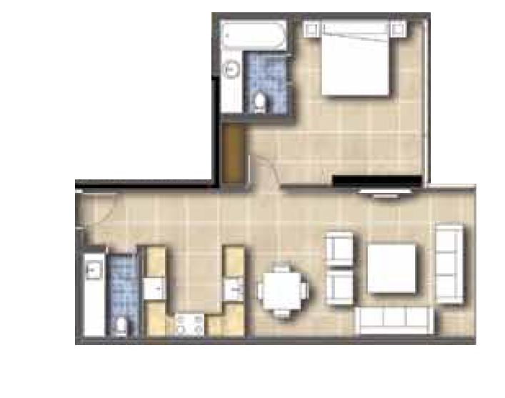 golf condominiums and townhouses townhouse 1bhk 1046sqft21
