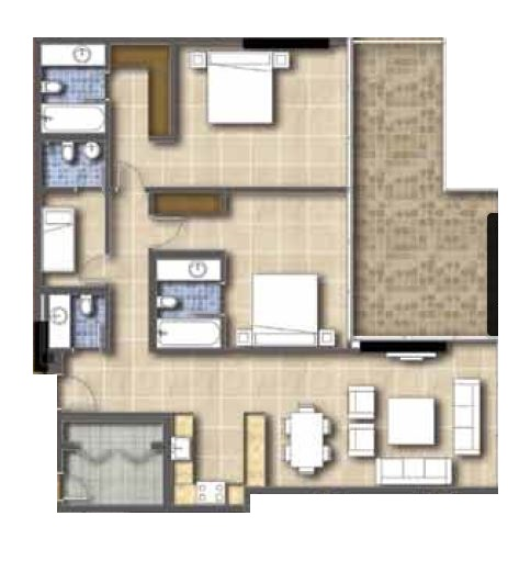 golf condominiums and townhouses townhouse 2bhk 1554sqft21