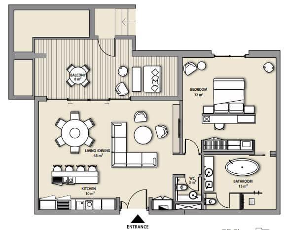 nikki beach residences apartment 1bhk 1141sqft81