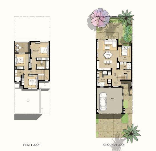 nshama noor townhouses townhouse 4 bhk 2324sqft 20202008122028