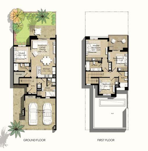 nshama noor townhouses townhouse 4 bhk 2325sqft 20202108122105